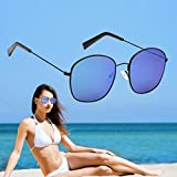 Fheaven Polarized Sunglasses Auto Drivers Anti-Reflection Night Vision Goggles Driving Glasses (B)