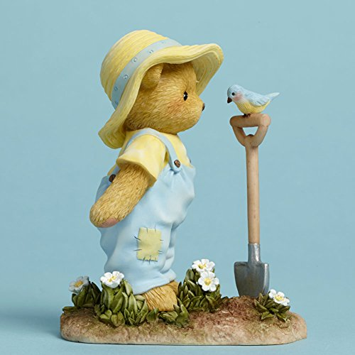 Cherished Teddies In My Little Garden Row by Row My Gardens Grow Bear Figurine
