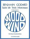 """""""Godard Suite De Trois Morceaux"""": Flute and Piano (Chester Woodwind Series of Graded Pieces)"""