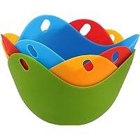 CuiGuoPing - Escalfador de Huevos (Silicona, Color al