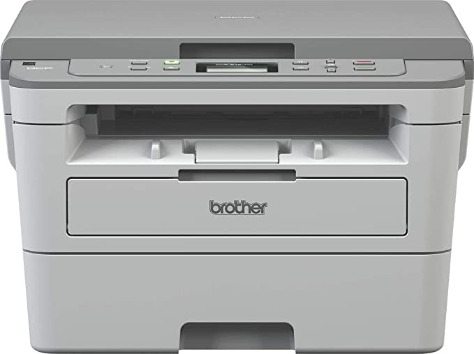 Brother DCP B7500D Multi Function Monochrome Laser Printer with Auto Duplex Printing  Toner Box Technology   Grey