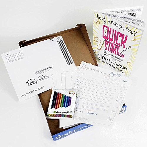 My Awesome Book Create Write and Illustrate Your Own Premium Size Hardcover Kit