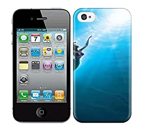 Best Power(Tm) HD Colorful Painted Watercolor Make The Little Mermaid Part Of Your World Hard Phone Case For Iphone 4/4S