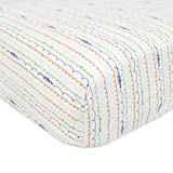 Babyletto Fitted Mini Crib Sheet, Alphabets