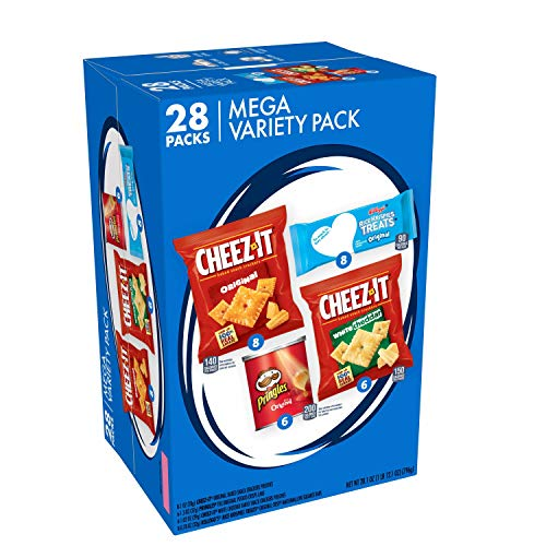 Cheez-It Mega Variety Pack (MVP), Snacks, Variety Pack,