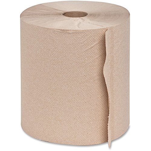 Genuine Joe GJO22600 Hard Wound Roll Towel, 800' Length x 7-8/9