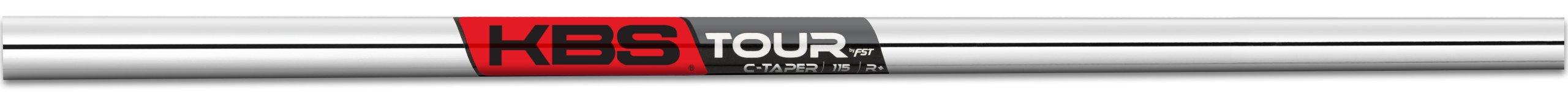 True Temper Men's C-Taper R+ Golf Club Shaft, 115gm, Steel, Regular, 4-PW