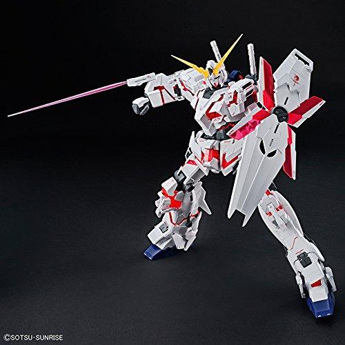 Bandai Hobby Mega Size 1/48 Unicorn Gundam [Destroy Mode] Gundam UC Model Kit Figure by Bandai Hobby (Image #4)