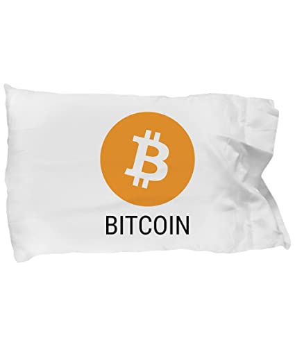 Amazon official bitcoin cryptocurrency standard size white official bitcoin cryptocurrency standard size white pillow case crypto miner blockchain invest trade buy sell hold ccuart Choice Image