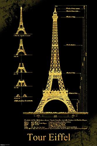 Malcolm Watson Tour Eiffel Tower Schematics Architectural De