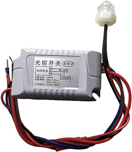 1 X Twilight Sensor Switch Evening Light Switch For Outdoor Lighting Baumarkt