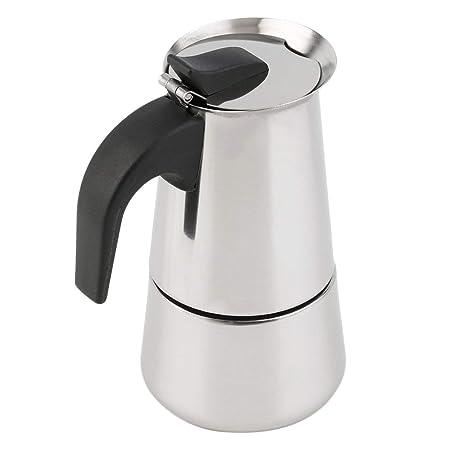 2/4/6-Copa del percolador Fogón Cafetera Moka Espresso Latte Olla ...
