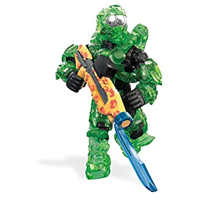 Mega Construx Halo Req Station Green Building Set: Toys & Games