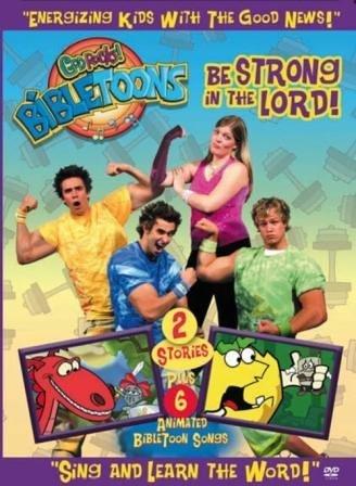 God Rocks! Bibletoons: Be Strong in the Lord [DVD] (God Rocks Bibletoons)
