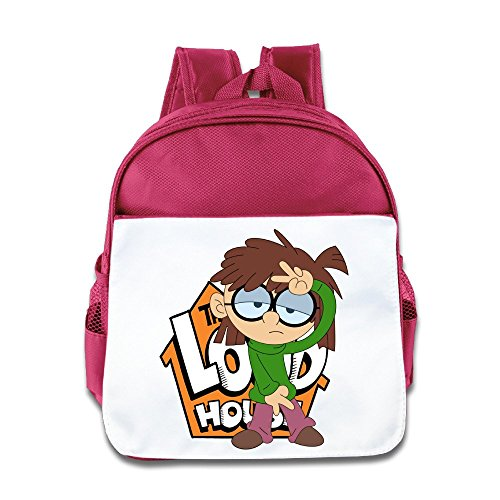 Price comparison product image Jade Custom Superb Cute TV Cartoon Role Poster Kids School Bag For 1-6 Years Old Pink