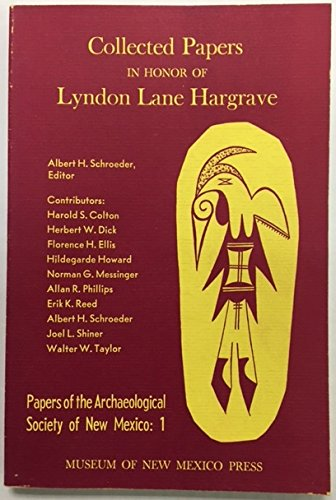 Collected Papers in Honor of Lyndon Lane Hargrave