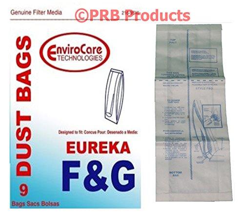 Buy eureka style f & g vacuum bags, 9 per pack