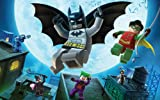Athah Designs Wall Poster 13*19 inches Matte Finish LEGO Batman: The Videogame Lego Batman Robin Mr Freeze Joker Two-Face Catwoman Game