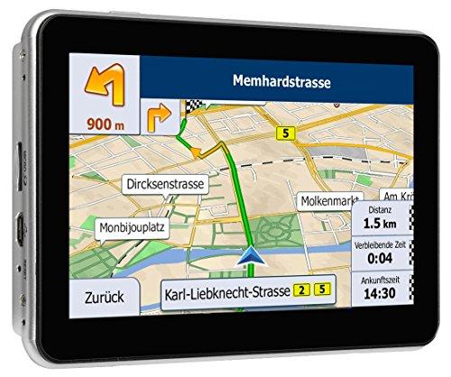 Blaupunkt TravelPilot 53 EU LMU - mobiles Navigationssystem, 12,7 cm (5 Zoll) Touchscreen-Farbdisplay, TMC Stauumfahrung, Lebenslange Karten-Updates*, Fahrspurassistent, Text to Speech, Kartenmaterial TomTom Maps