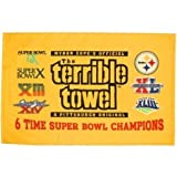 #5: Pittsburgh Steelers Terrible Towel 6X Super Bowl Champions - New with Tags