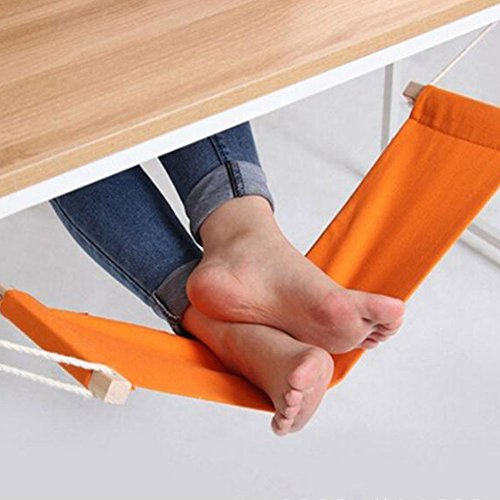 FEOOWV Office Foot Rest Stand Desk Feet Hammock by FEOOWV
