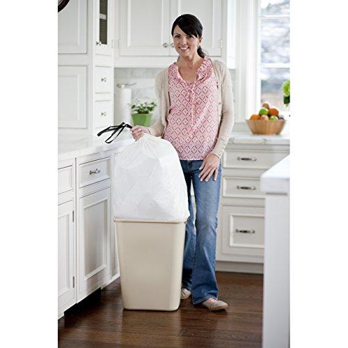 012587783610 - Glad OdorShield Tall Kitchen Drawstring Trash Bags - Febreze Fresh Clean - 13 Gallon - 40 count carousel main 5