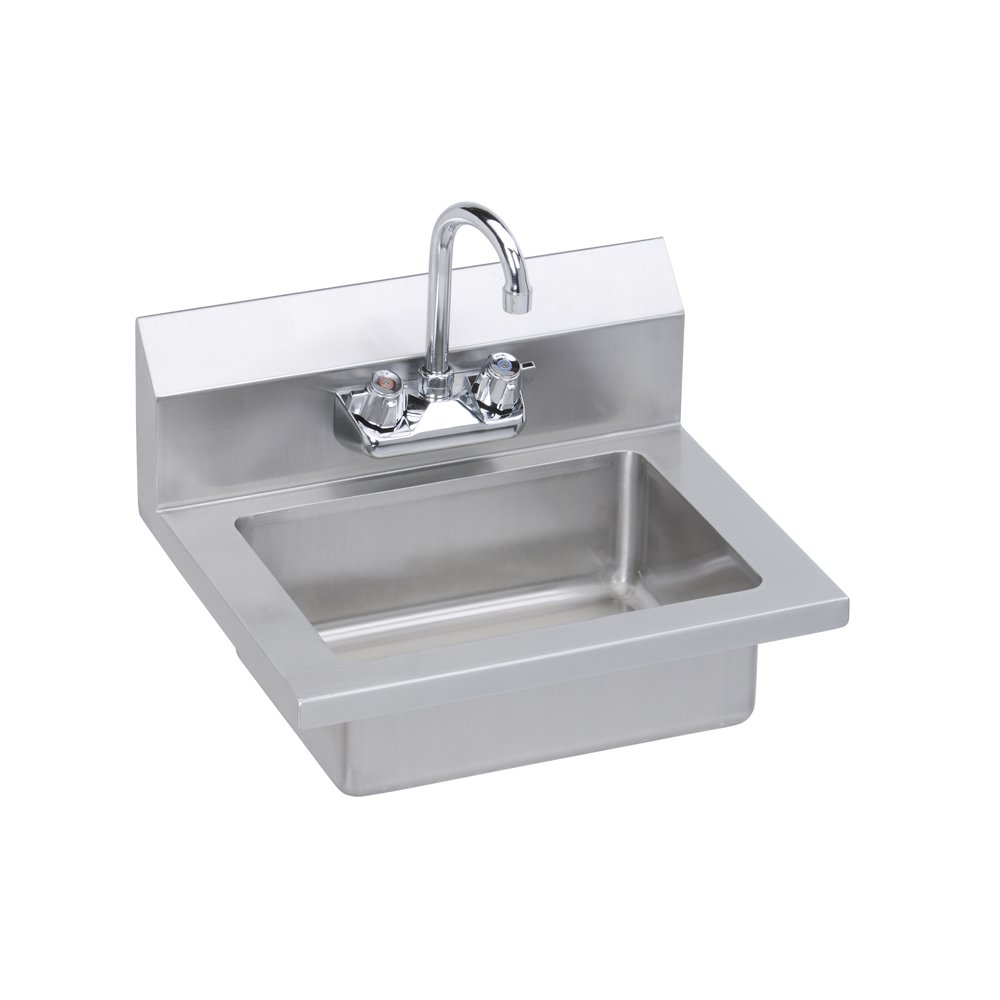 elkay professional grade wall mounted commercial hand sink with