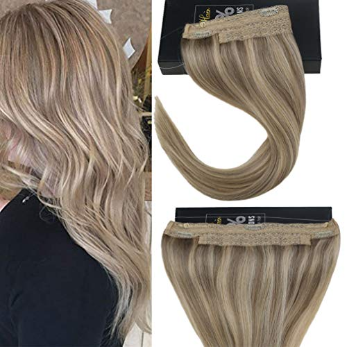 Sunny Hair 12inches Halo Hair Extensions Human...