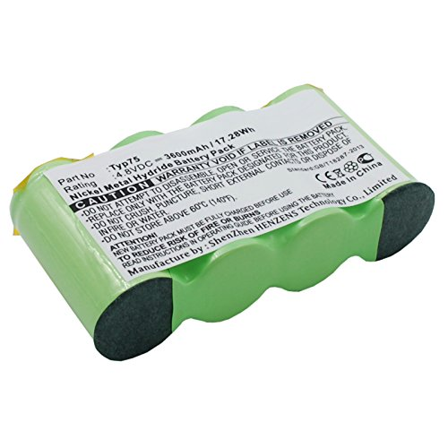 Exell EBVB-147 Ni-MH 4.8V Battery Replaces