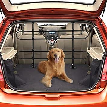 Pet /& Driver Safety Car Hatchback 4x4 /& Estate Adjustable Mesh Dog Guard Barrier