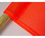 National Marker Corp. STF3 Mesh Safety Flag