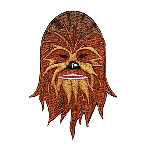 Disney Star Wars Chewbacca Face Patch Chewy Officially Licensed Iron On Applique
