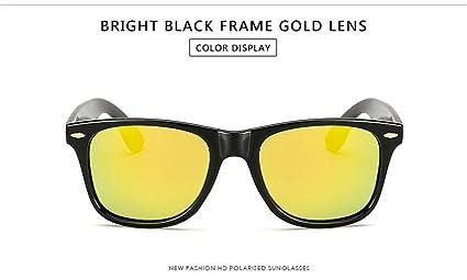 KOMNY Gafas de Sol polarizadas de los Hombres Gafas de Sol Unisex Alta definición Gafas de
