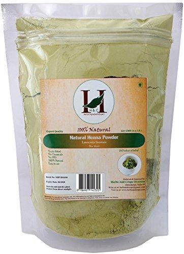 Pure Henna Powder / Lawsonia Inermis (Organically Grown) 227 gms (1/2 LB) for Hair (Henna Leaf Powder)