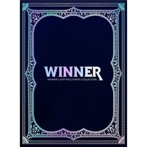 Winner - [2019 Welcoming Collection] DVD+Poster/On+148p PhotoBook+30p Wall Calendar+32p Desk Calendar+2p PhotoCard+1p Post+56p to Do List+56p Mini Note+5p Polaroid+Tracking K-POP Sealed