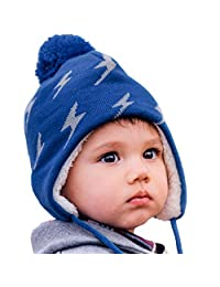 Jan & Jul Warm Toddler Kids Adult Fall Winter Beanie Matching Twinning Hats