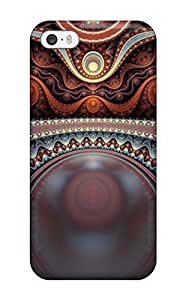 Excellent Design Shapes Abstract Case Cover For Iphone 5/5s wangjiang maoyi by lolosakes