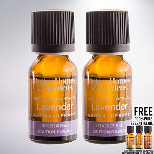 15 mL 100% Pure Essential Oil Set of 2 bundled with free 15 mL 100% Pure Essential Oil (Lavender)