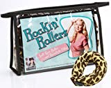 Rockin' Rollers Soft Leopard Print Hair Rollers and Hair Filler
