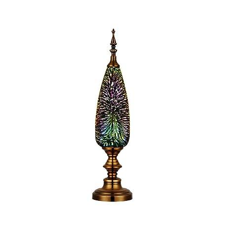 GAOYUN Lámpara de Mesa Europea 3D Decorativo lámpara de Mesa ...