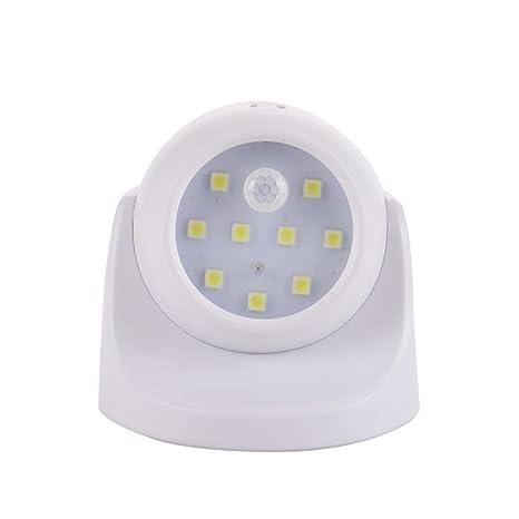 Sensor inalámbrico STRIR para interiores y exteriores con movimiento, luz brillante LED para porche-