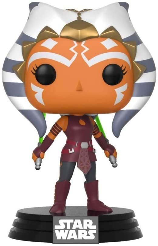 Funko Pop Star Wars: Clone Wars - Ahsoka Tano Collectible Figure, Multicolor