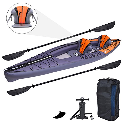 Zray 2 Person Inflatable Nassau Kayak,13'4