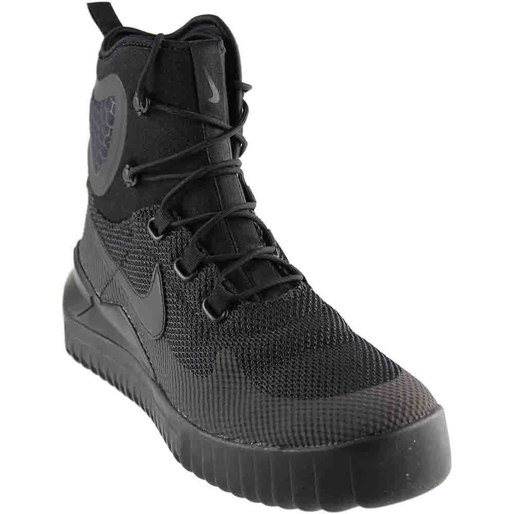 Nike Herren Air Wild Mid Schwarz Textil/Synthetik Sneaker  42.5 EU|Schwarz (Black/Anthracite)