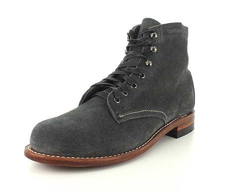 5e460838ee9 WOLVERINE 1000 Mile - Premium-Boots 1000 Mile - Olive Brown: Amazon ...