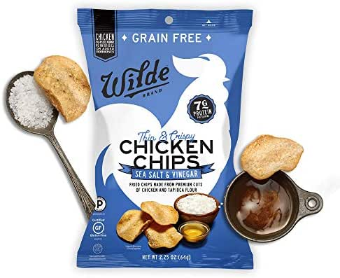 Jerky & Dried Meats: Wilde Protein Chips