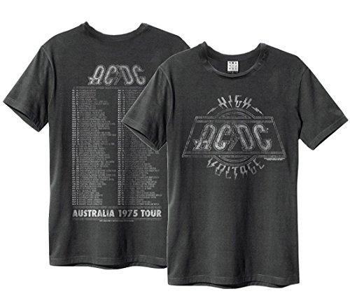 Amplified Herren T-Shirt grau anthrazit