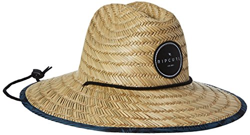 (Rip Curl Men's Paradise Straw Lifeguard Sun Hat, Natural One Size)