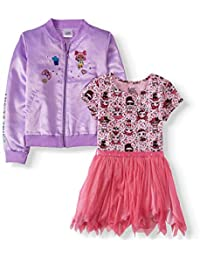 COLORS /& STYLES NEW GIRLS CHARACTER 2 PIECE TOP /& BOTTOM OUTFIT SETS MANY SIZES