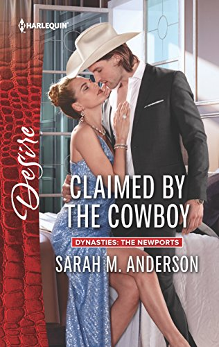 book cover of Claimed by the Cowboy